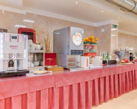 Breakfast at Best Western Hotel Rocca is rich and healthy way to start your day exploring Cassino