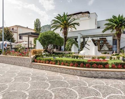 The outside of the Best Western Hotel Rocca: 4-star in Cassino in the province of Frosinone