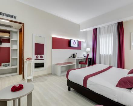 The spacious Junior Suites at the BW Hotel Rocca: the ideal location for your stay in Cassino