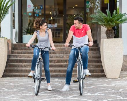 Rent bikes at the Best Western Hotel Rocca to discover Cassino and surroundings
