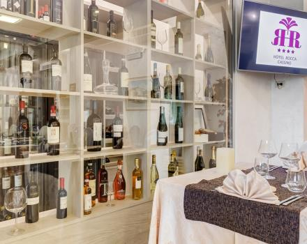 Local specialities in the restaurant at the Best Western Hotel Rocca Cassino