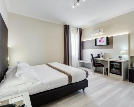 Le camere standard del Best Western Hotel Rocca a Cassino