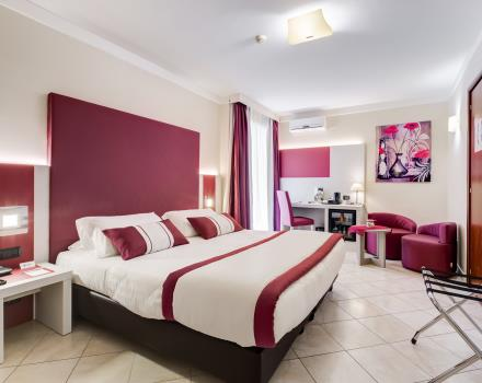 The Best Western Hotel Rocca Cassino offers comfortable, spacious and functional rooms junior suite