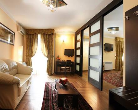 Book/reserve a room in Cassino, stay at the Best Western Hotel Rocca