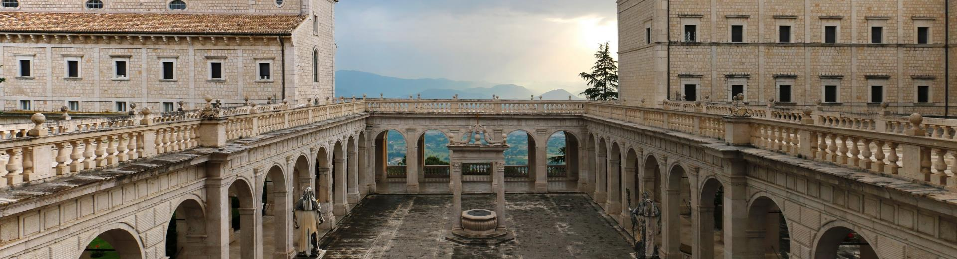 Follow the advice of the best Western Hotel Rocca and discover the beauty of the Abbey of Montecassino