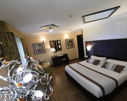 The elegant suite at the Best Western Hotel Rocca Cassino 4 star