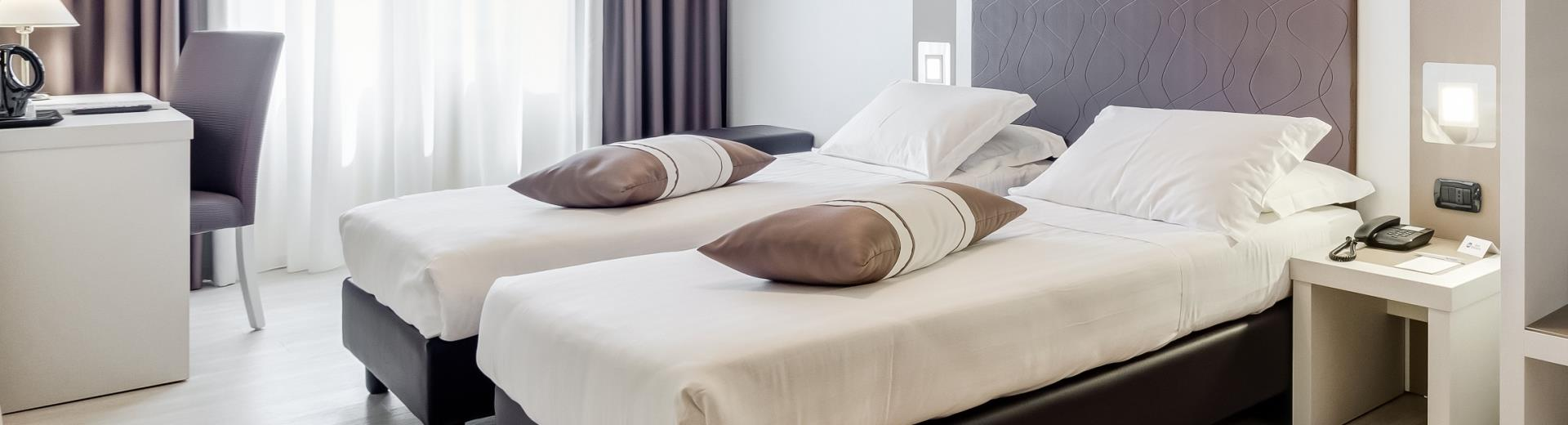 Comfortable rooms at Cassino 4 star Best Western Hotel: hotel Rocca