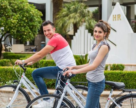 Take our free bikes and go at the discovery of the territory: Best Western Hotel Rocca