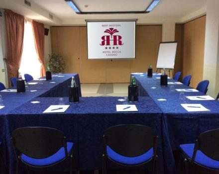 For your congresses in Cassino, choose the meeting rooms of the Best Western Hotel Rocca 4 stars